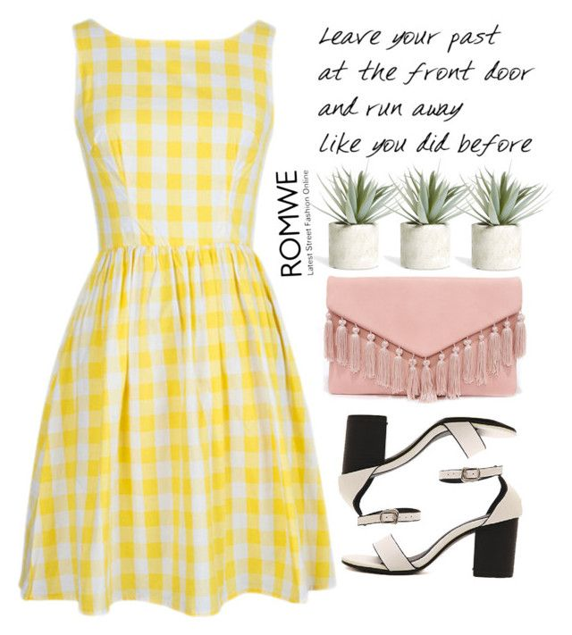 """""""Vintage dress"""" by m-zineta ❤ liked on Polyvore featuring Allstate Floral, Lulu*s and vintage"""