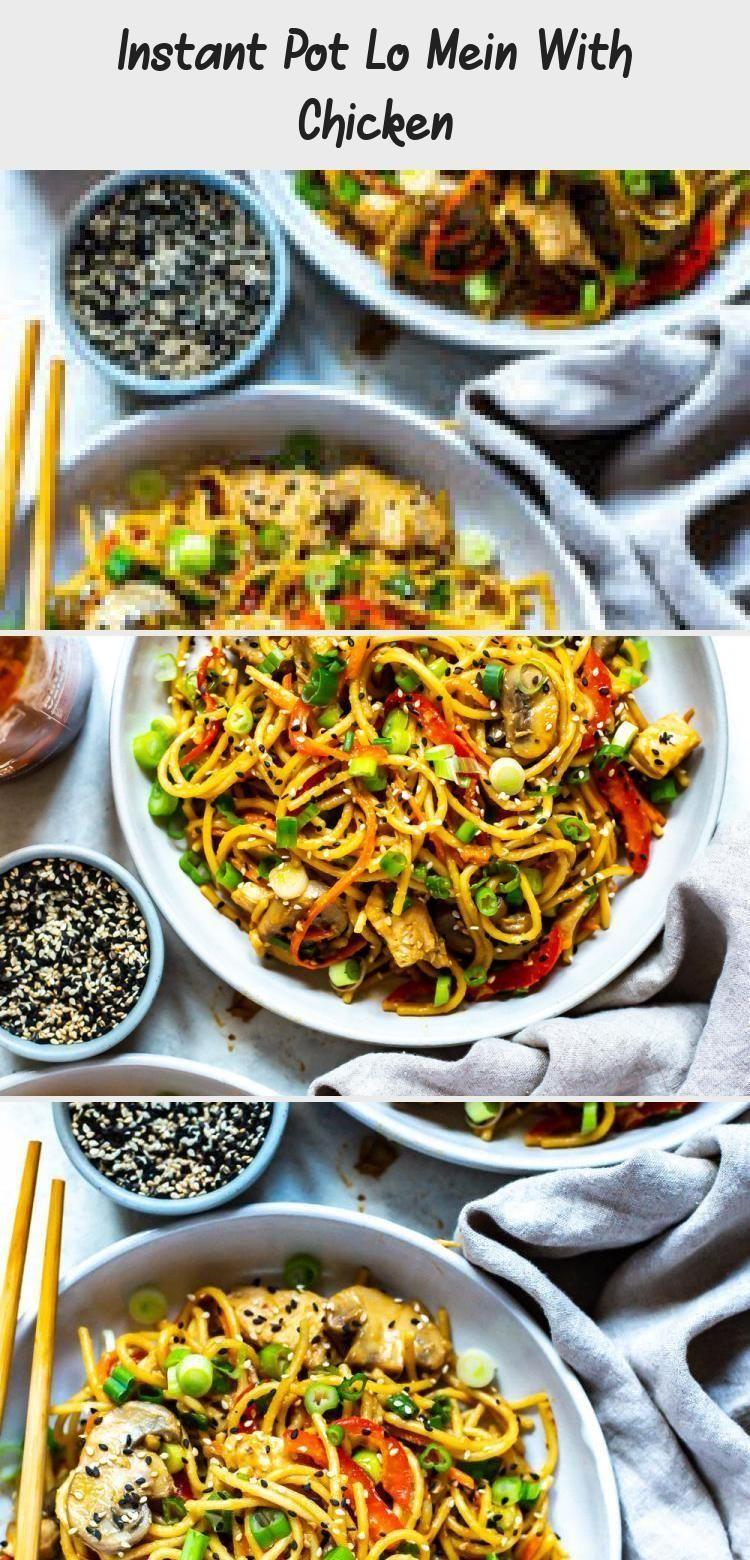 Instant Pot Lo Mein With Chicken  Recipe  Recipe