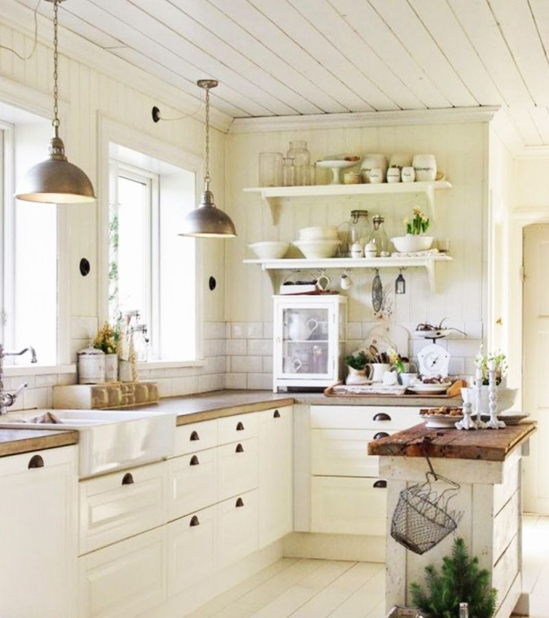 23 Best Cottage Kitchen Decorating Ideas And Designs For 2020: Create A Farmhouse Interior With These 5 Easy Essentials