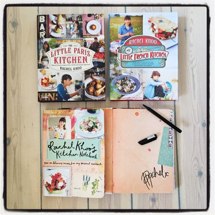 The amazing independent book store Books for Cooks in Notting Hill is taking orders for signed copies of all my books, including my new book Rachel Khoo's Kitchen Notebook. If you want to get your hands on one, contact them before Friday 13th February 2015. If you have any queries about shipping, please contact them directly. Thanks!