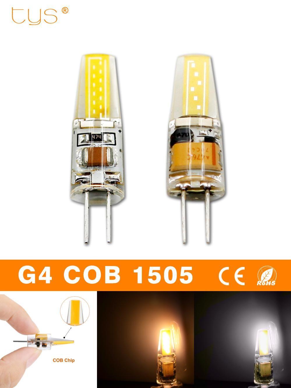 Visit To Buy Bombillas Led Bulb G4 220v 6w Dimmable Lampada Led Lamp G4 Ac Dc 12v Cob Led Lights 360 Beam Angle Chandelier Replace H Lamp Led Bulb Led Lights