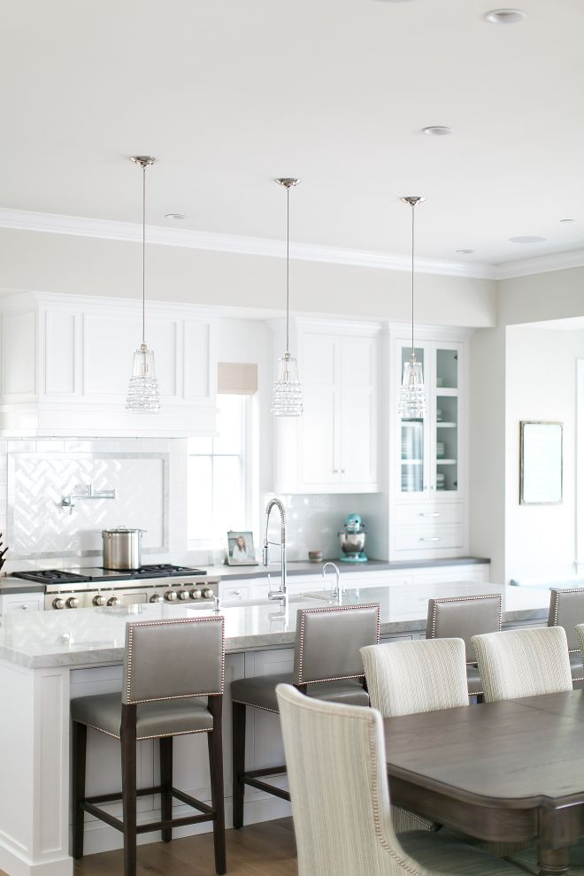The Island Countertop Is U201cPrincess White Quartziteu201d California Cape Cod  Home Design | Kitchens | Pinterest | Countertop, Kitchens And Revere Pewter