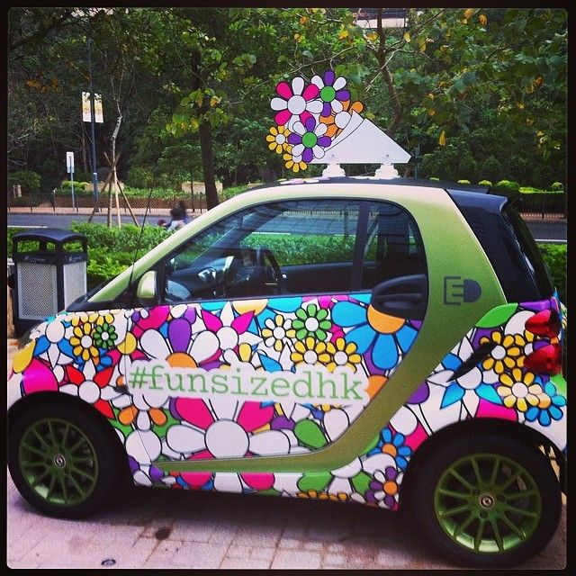 Flowerpower With Images Smart Car Car Wrap Design Smart