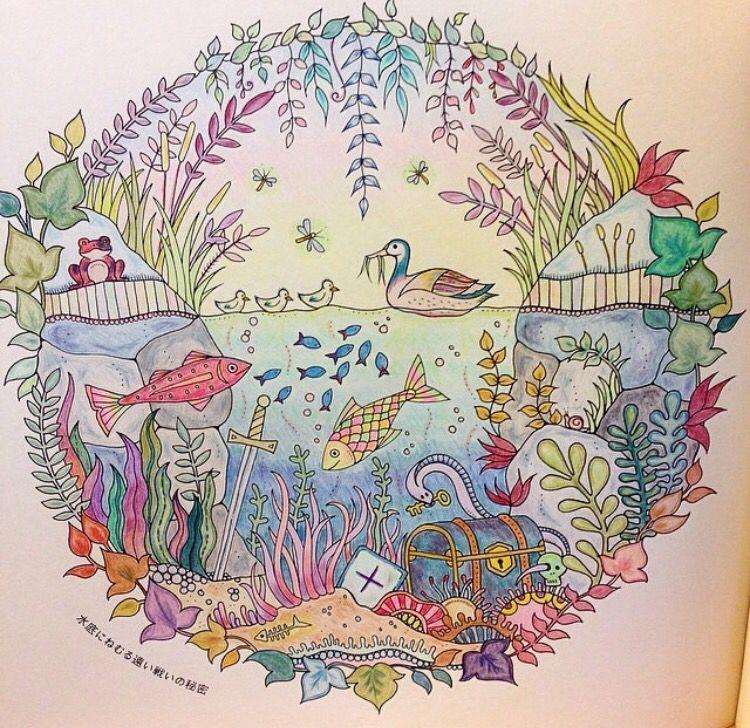 Aquarium Enchanted Forest. Aquário Floresta Encantada