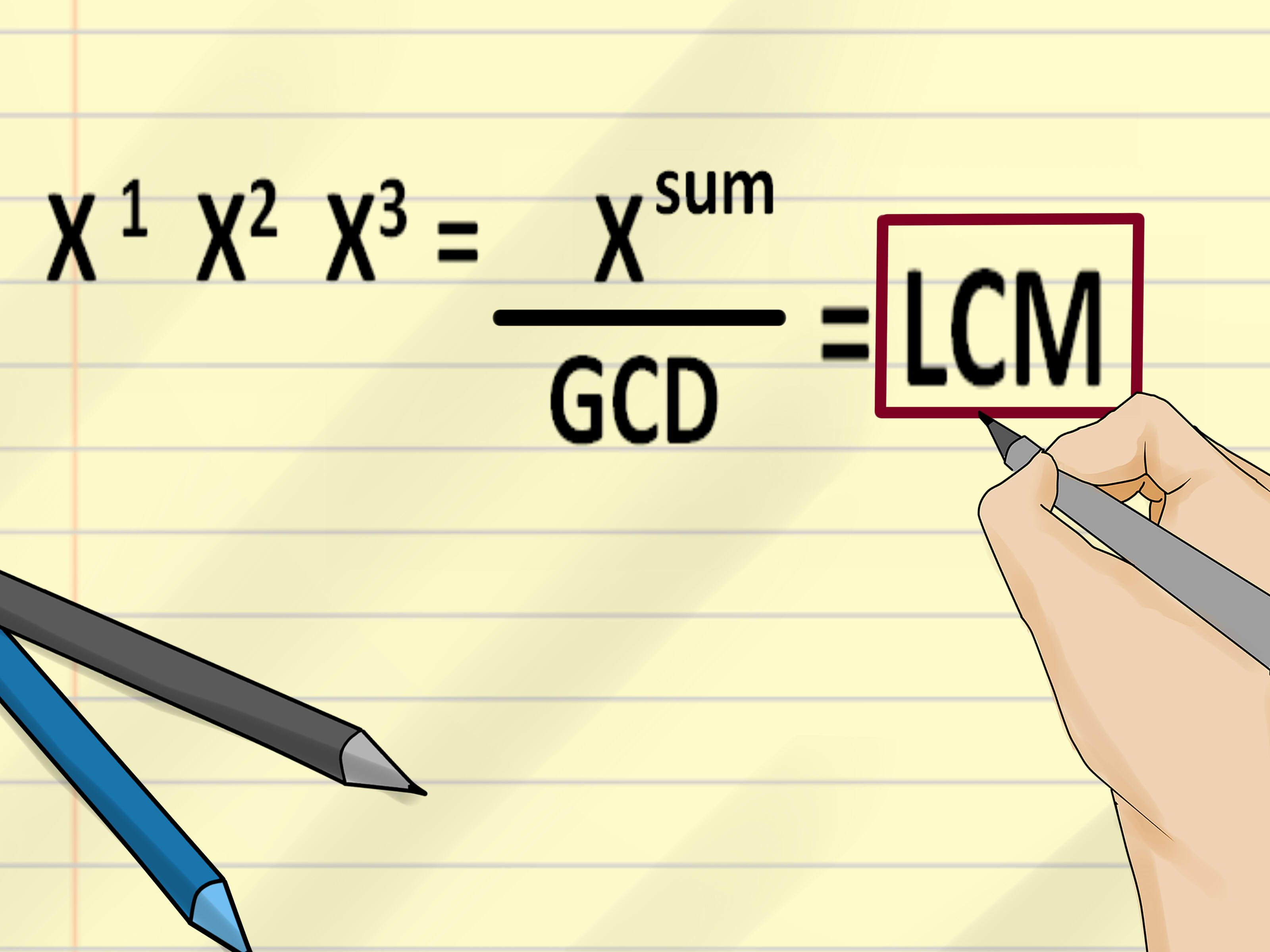 Find The Least Common Multiple Of Two Numbers