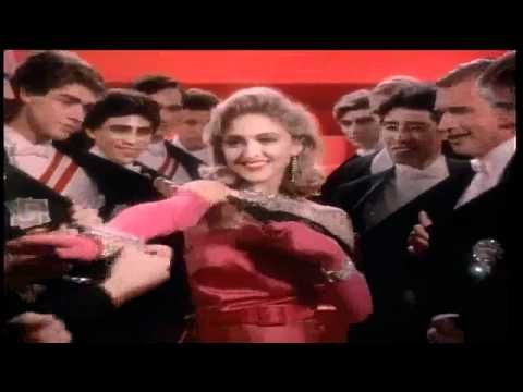 """MADONNA / MATERIAL GIRL (1985) -- Check out the """"I ♥♥♥ the 80s!! (part 2)"""" YouTube Playlist --> http://ow.ly/9ZFzh"""