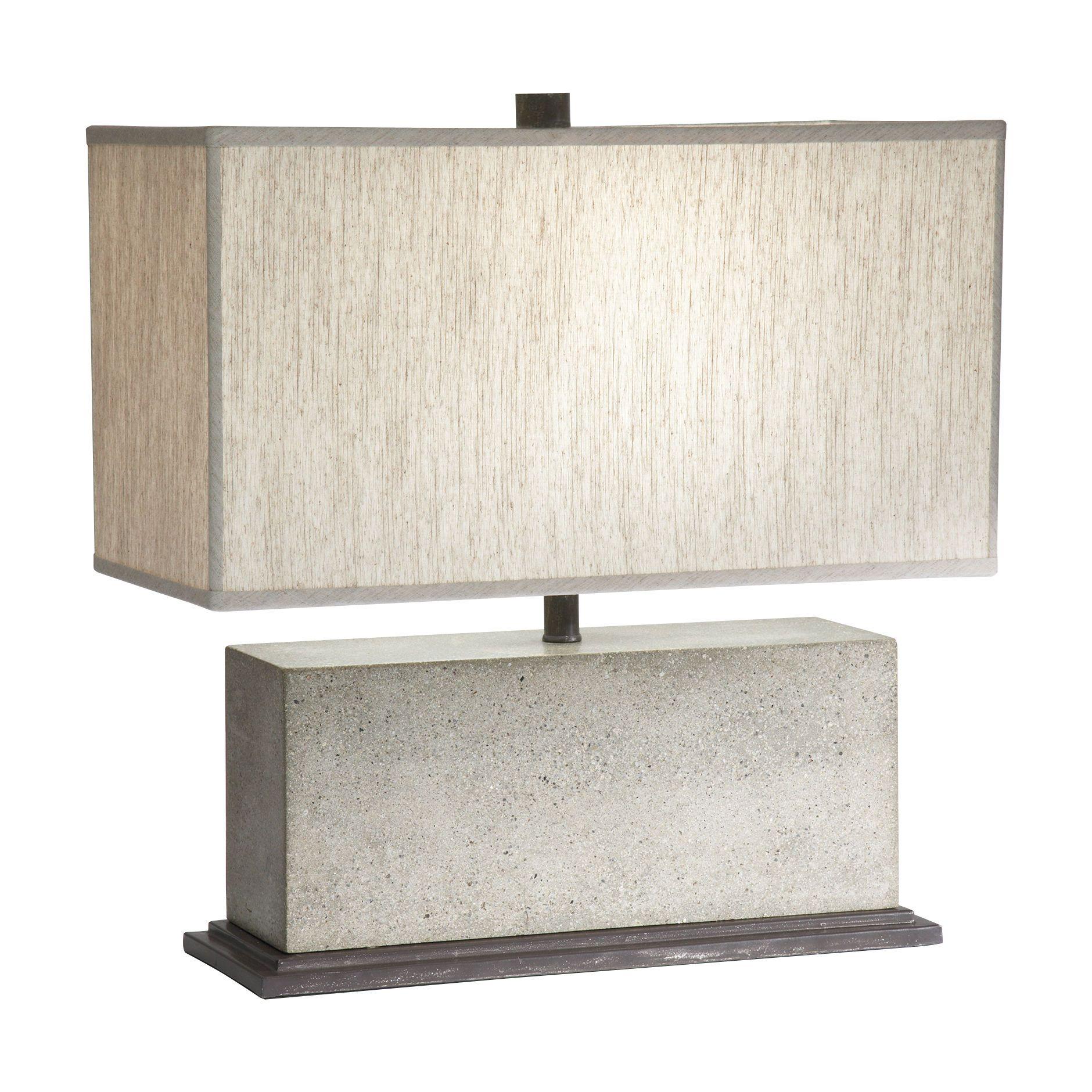 Mila Rectangular Table Lamp   Ethan Allen US