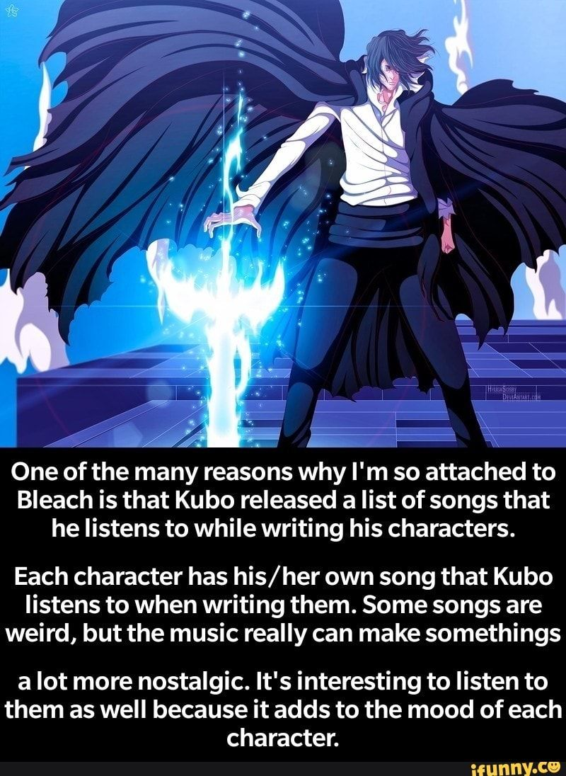 One of the many reasons why I'm so attached to Bleach is