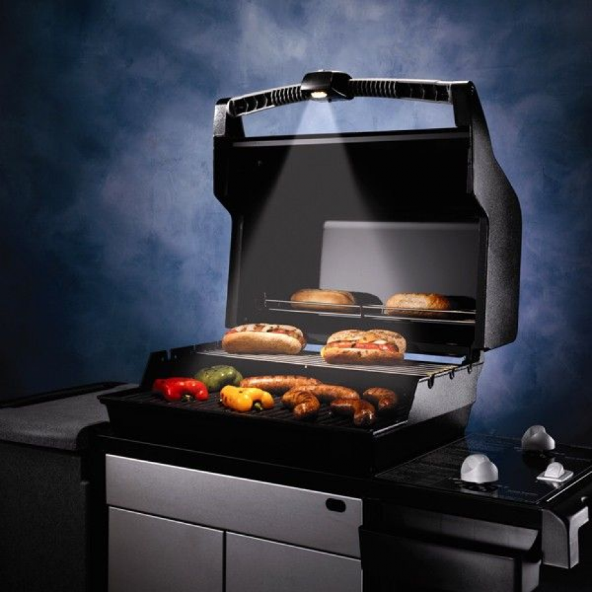 Weber Grill Out Handle Light Weber Grill Outdoor Cooking Grills