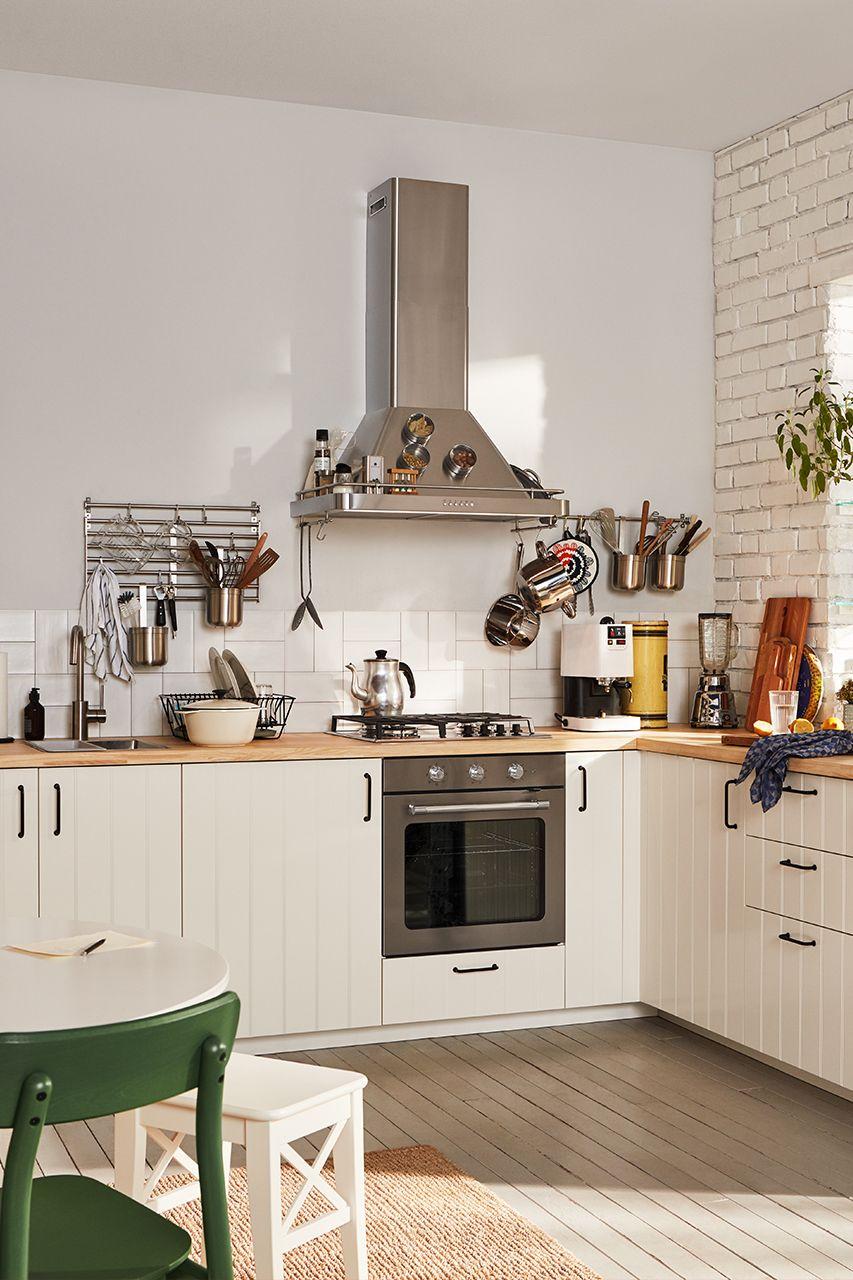 Küche Ikea Hittarp  Marvel Wijaya