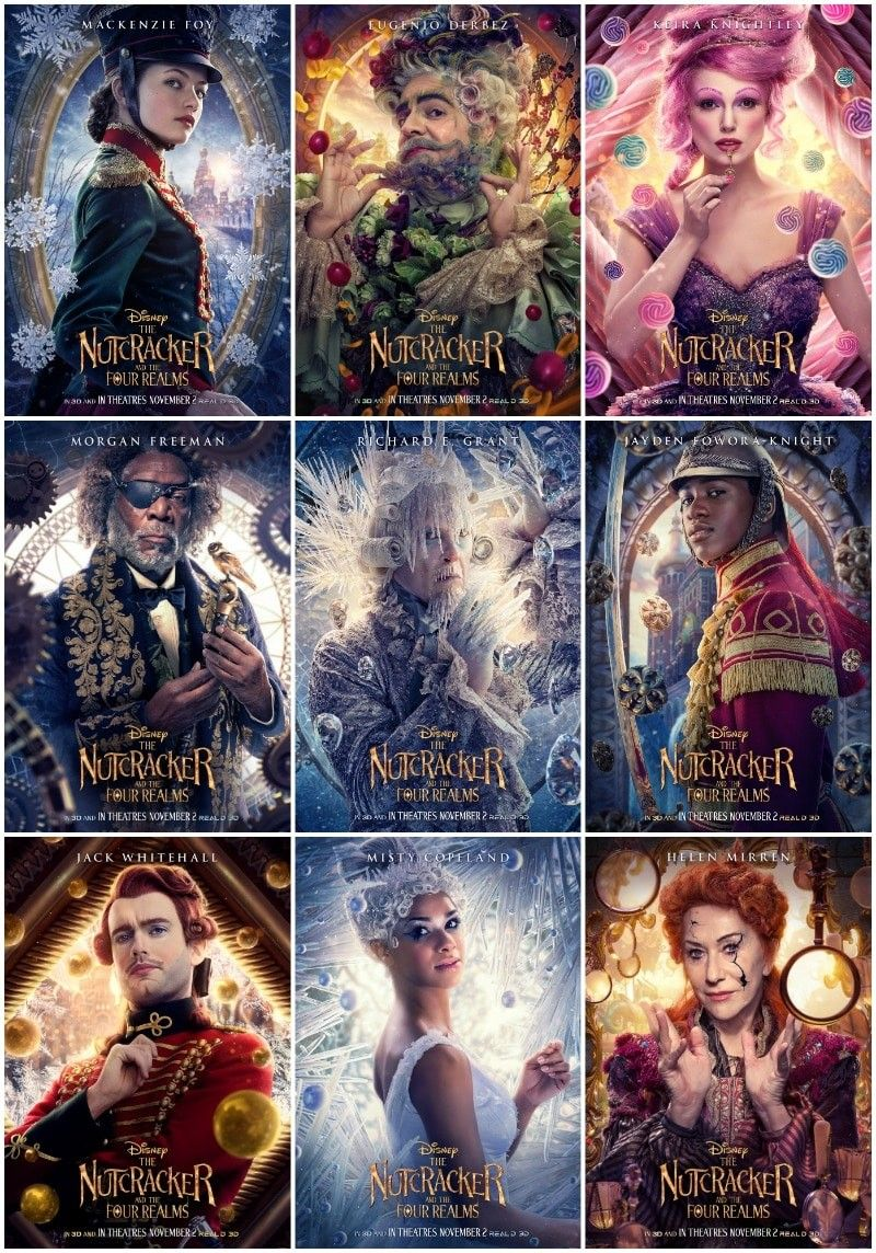The Nutcracker and the Four Realms Poster, Character