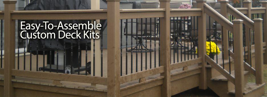 Pre-Engineered Deck Kits - Pre-Engineered Deck Kits DECKS And Decking Systems Pinterest