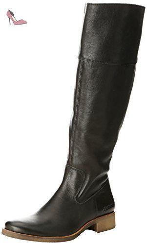 Eu Noir 39 Kickers Chaussures Classiques Femme Longboots Bottes w1xB7qzS6