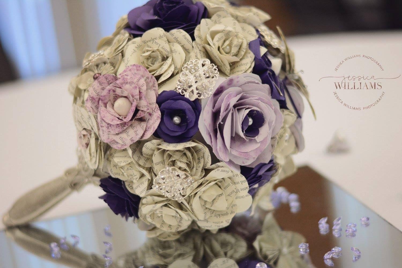 Lindseys harry potter paper flower wedding bouquet lindseys lindseys harry potter paper flower wedding bouquet izmirmasajfo Choice Image