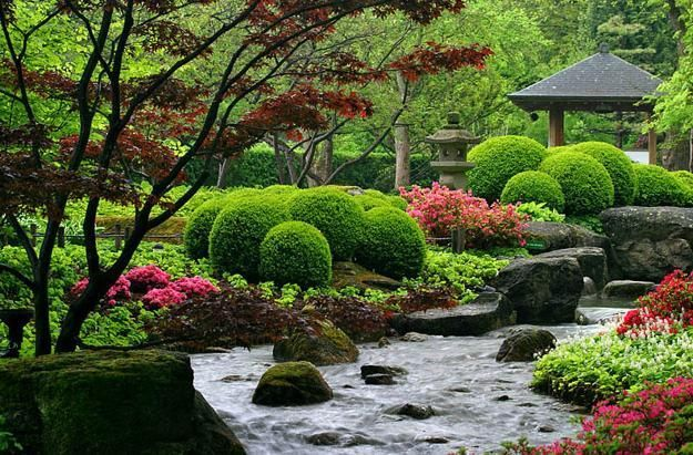 Landscaping Ideas For Building Oriental Garden Design
