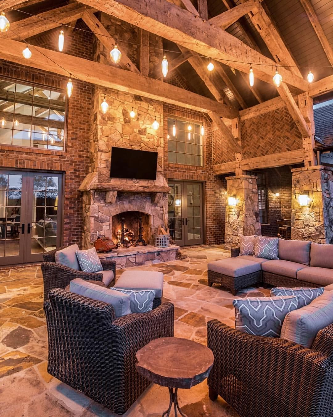 Outdoor Lightingdesign Ideas: Loving This Beautiful And Cozy Outdoor Setting!.. By