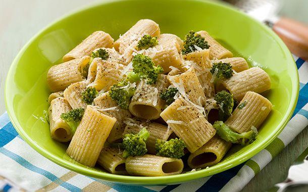 Macarrones con brócoli - Brócoli Pasión