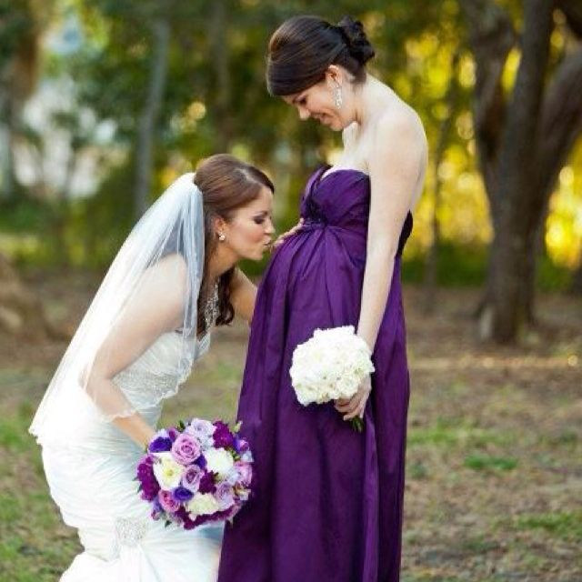 If you have a pregnant bridesmaid/maid of honor | I love ...