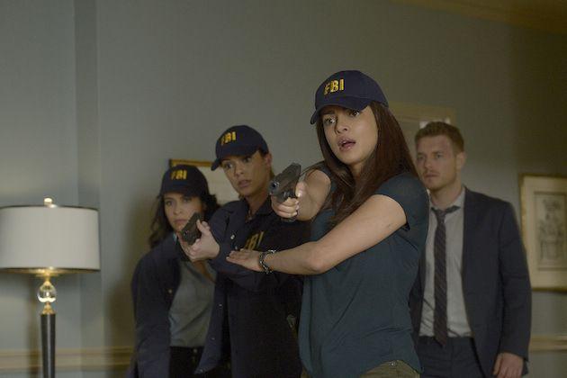 Quantico Season 1 Photos Priyanka Chopra Anabelle Acosta