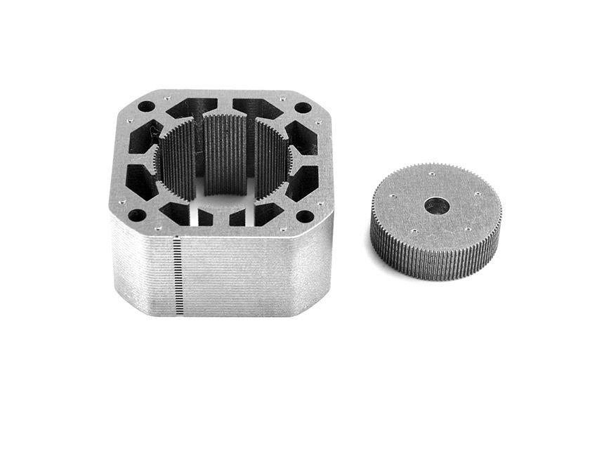 Rotor And Stator Laminations Stepper Motor Motor Yuma