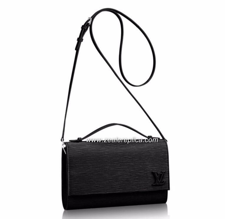 594d189fde8e Louis Vuitton Epi Leather Clery M54537 Size  23.0 x 17.0 x 5.0 cm ...