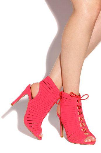 Fashion Soiree - Neon Coral