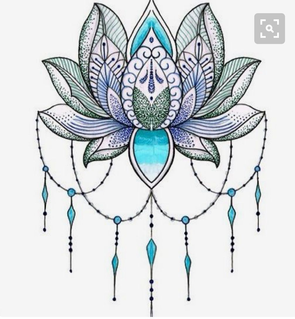 Pin by mims morton on tattoos pinterest tattoo tattoo designs lotus flower i want it without the beads and the in solid colour not gradient izmirmasajfo