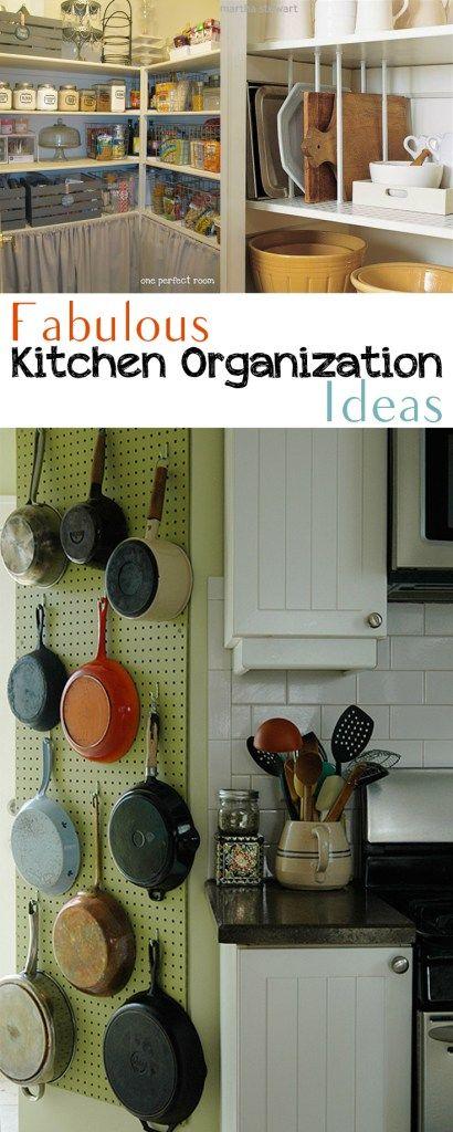 Fabulous Kitchen Organization Ideas Cleaning and Organization