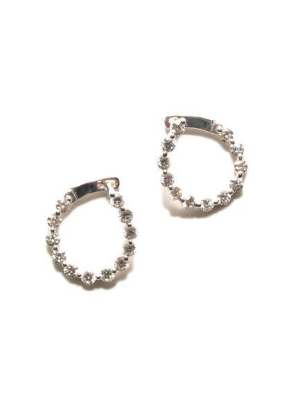 1.37ctw Diamond Hoop Earrings