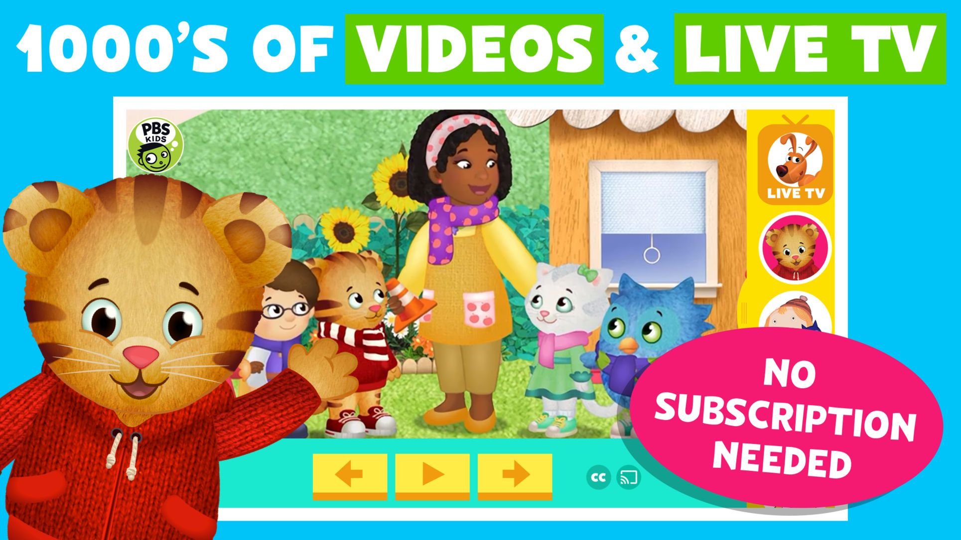 PBS KIDS Video iosEntertainmentappapps Kids app, Pbs