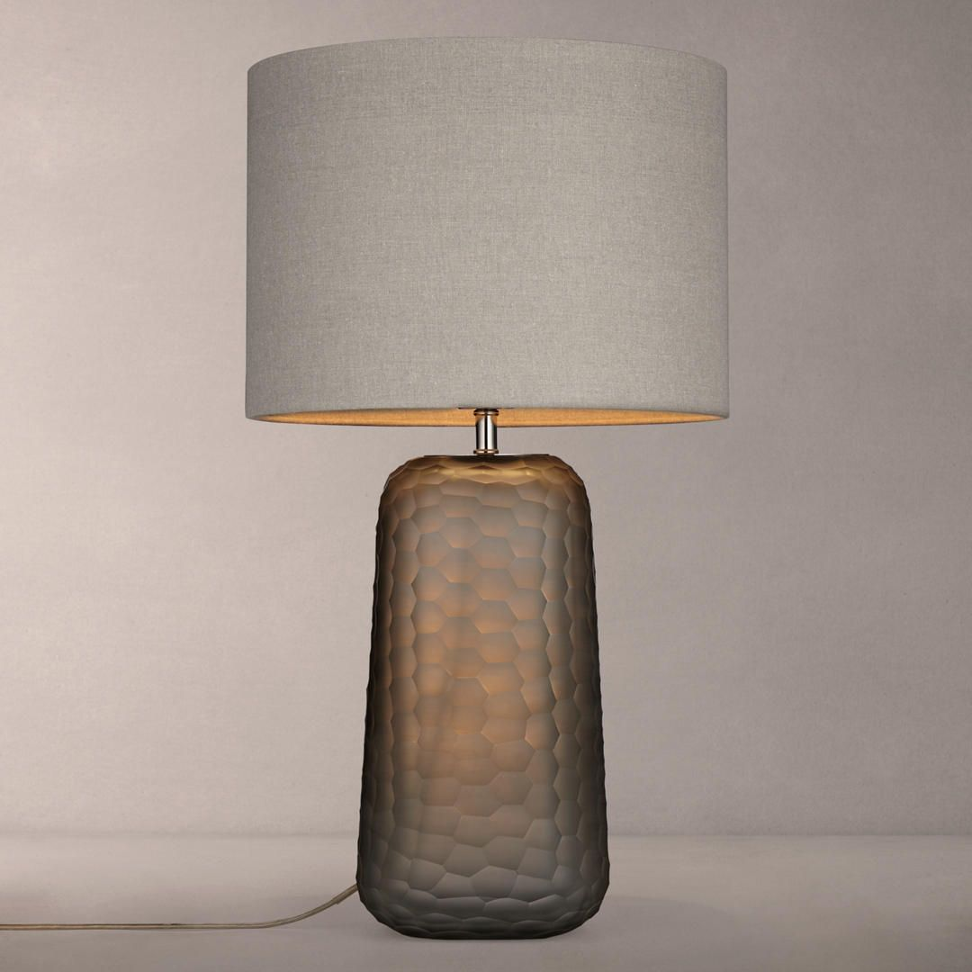 Glass Lamp John Lewis John Lewis Partners Lucian Frosted Glass Table Lamp Grey Living