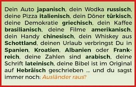 Bildergebnis Für Dein Auto Ist Deutsch Deine Pizza