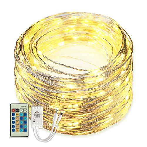 $17.99 - Senbao Dimmable Starry String Lights 66 ft Copper Wire Warm ...