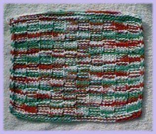 Checkerboard Washcloth