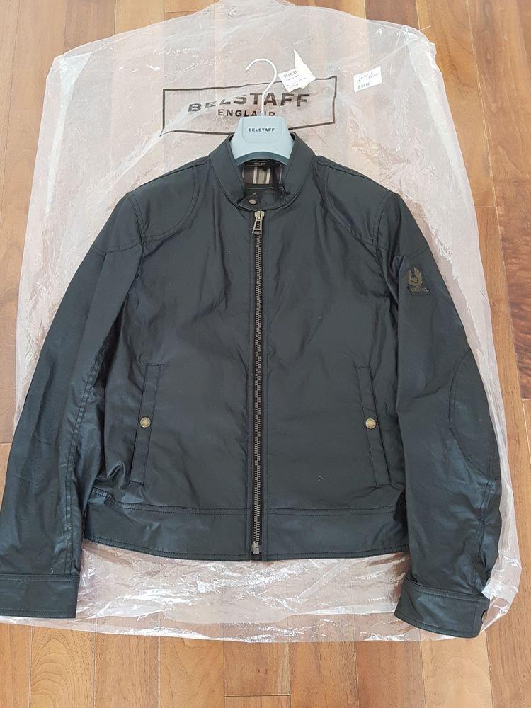 Cámara Consciente repetir  Belstaff Kelland Black Waxed Biker Jacket Size S/46 BNWT 450 (eBay Link)    Jackets, Biker jacket, Belstaff