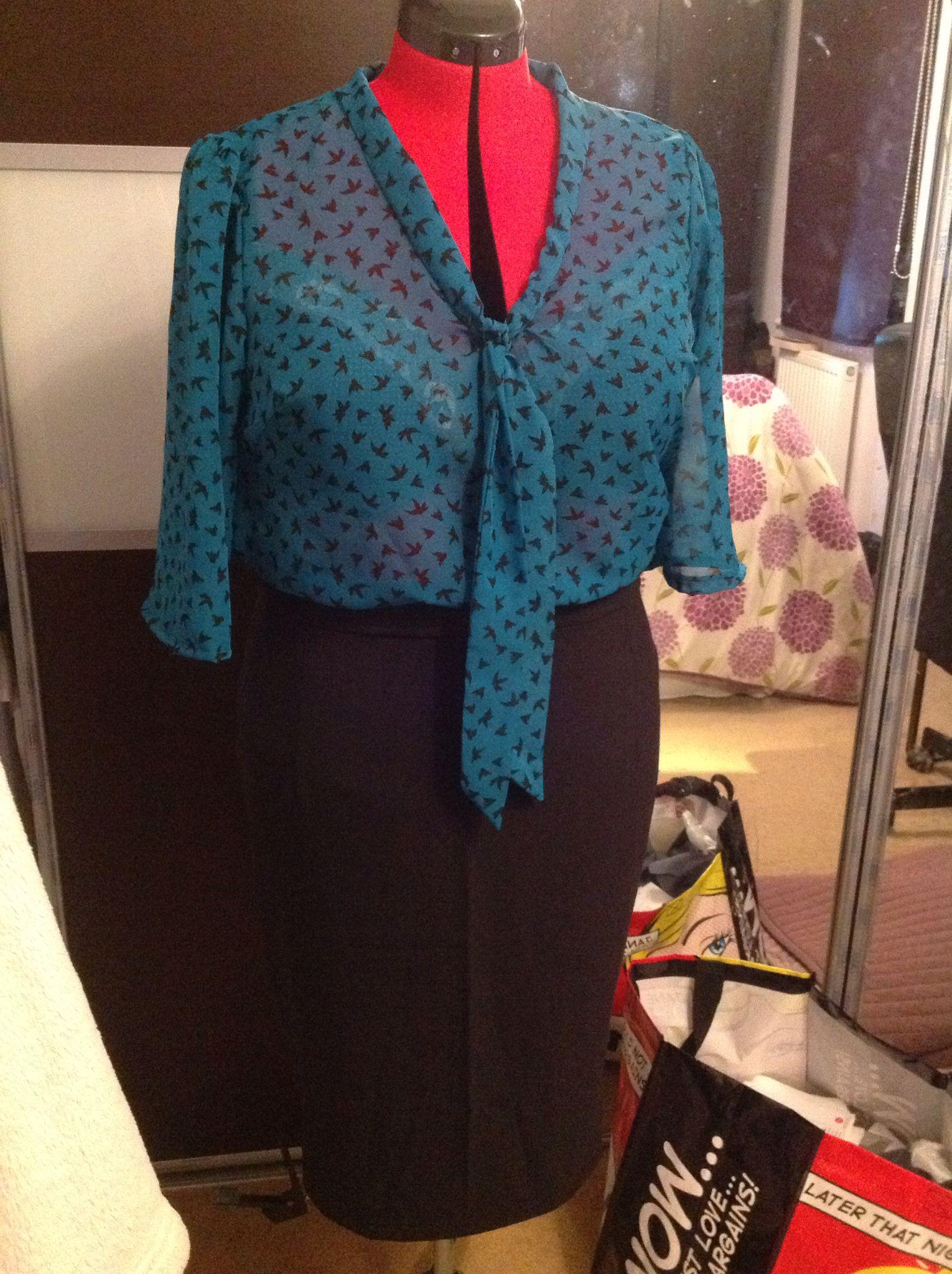 Lottie blouse and skirt