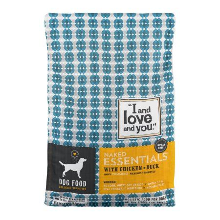I and Love and You. Naked Essentials with Chicken + Duck Dog Food, 4.0 LB