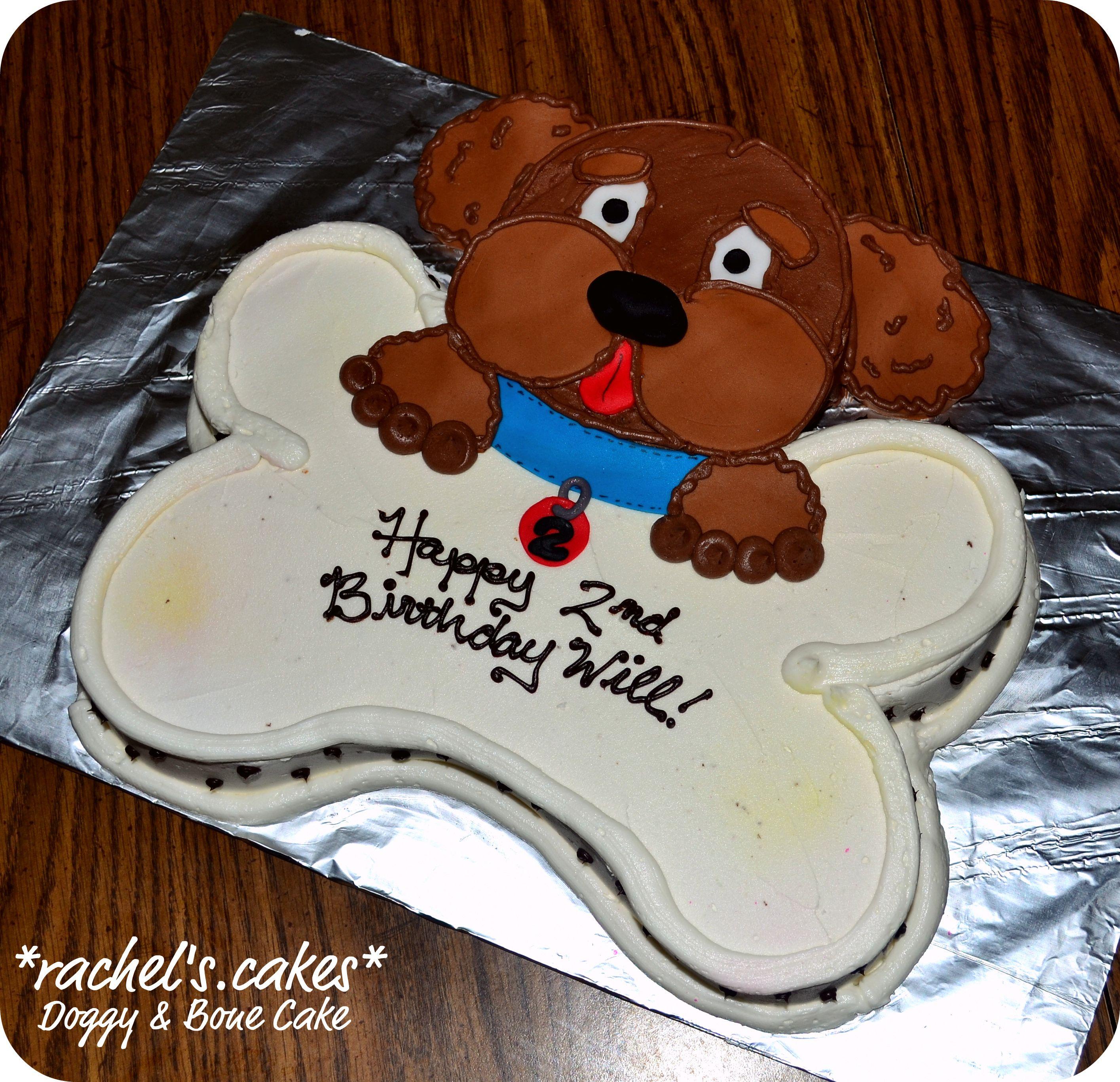 Dog and bone cake birthday party ideas pinterest cake sweet