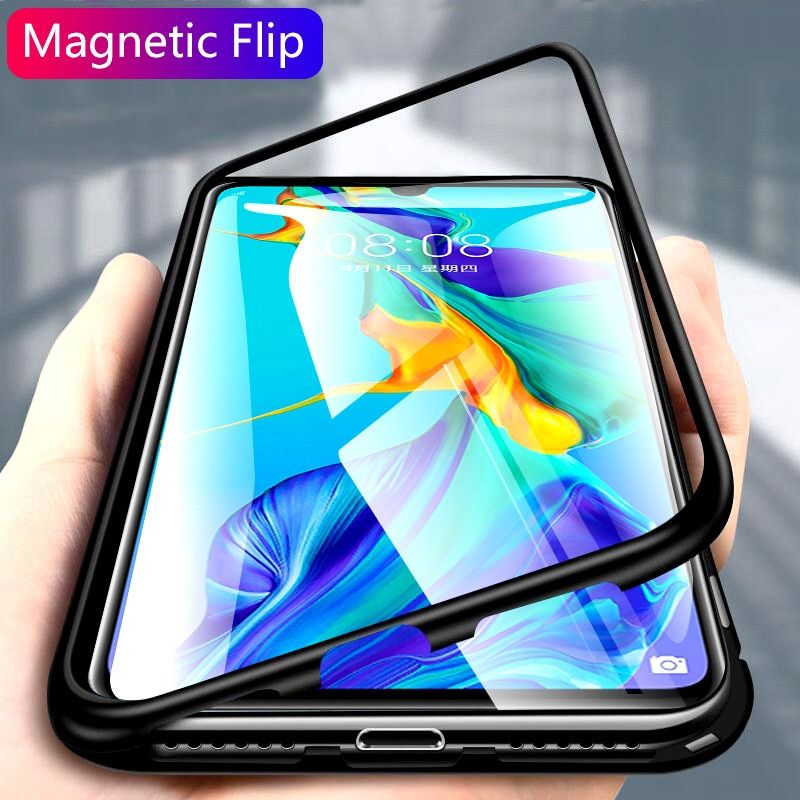 Us 3 19 20 Off 360 Luxury Metal Magnetic Case For Samsung Galaxy S10e S8 S9 S10 Plus S7 Edge A7 A8 A9 J4 J6 Plus 2018 Not Protective Cases Huawei Huawei Case