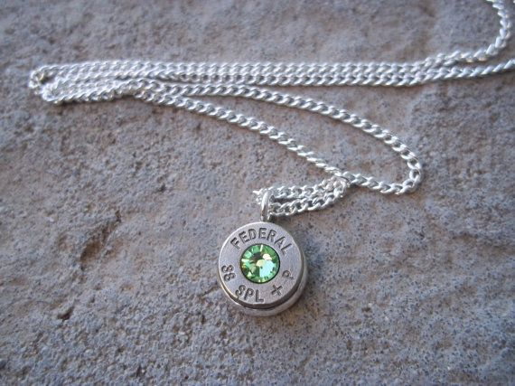 12 GA Shotgun Shell Necklace by Sarahsjewelrydesigns on Etsy
