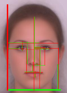 The Golden Ratio In 3d Human Face Modeling Valentin Schwind Golden Ratio Human Face Golden Mean Ratio