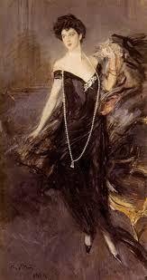 Ritratto di Franca Florio; Giovanni Boldini; 1912; olio su tela: collezione privata.