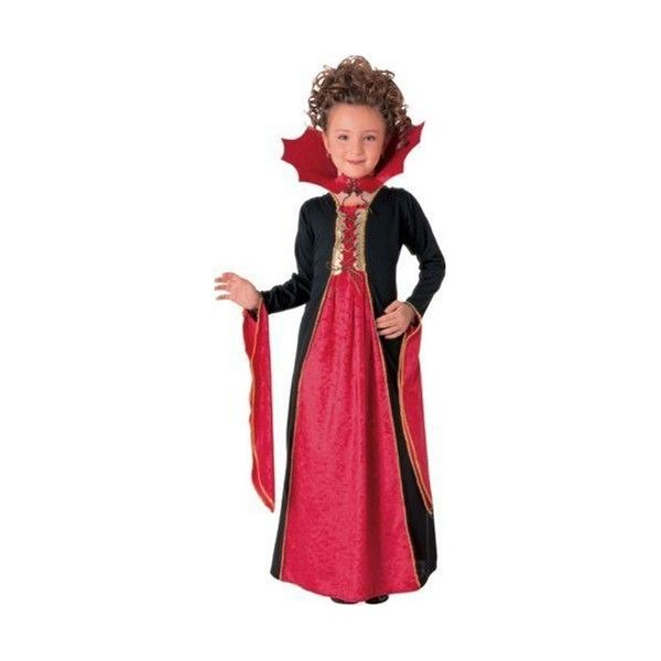 Gothic Vampiress Costume, Small ($12) ❤ liked on Polyvore featuring costumes, gothic vampire costume, red hood costume, vampire costume, vampire halloween costumes and halloween costumes