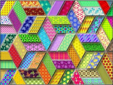 3D Boxes Puzzle created by Hummingbird59Published 1 day ago Image copyright: (C) Kathy Potts 2017