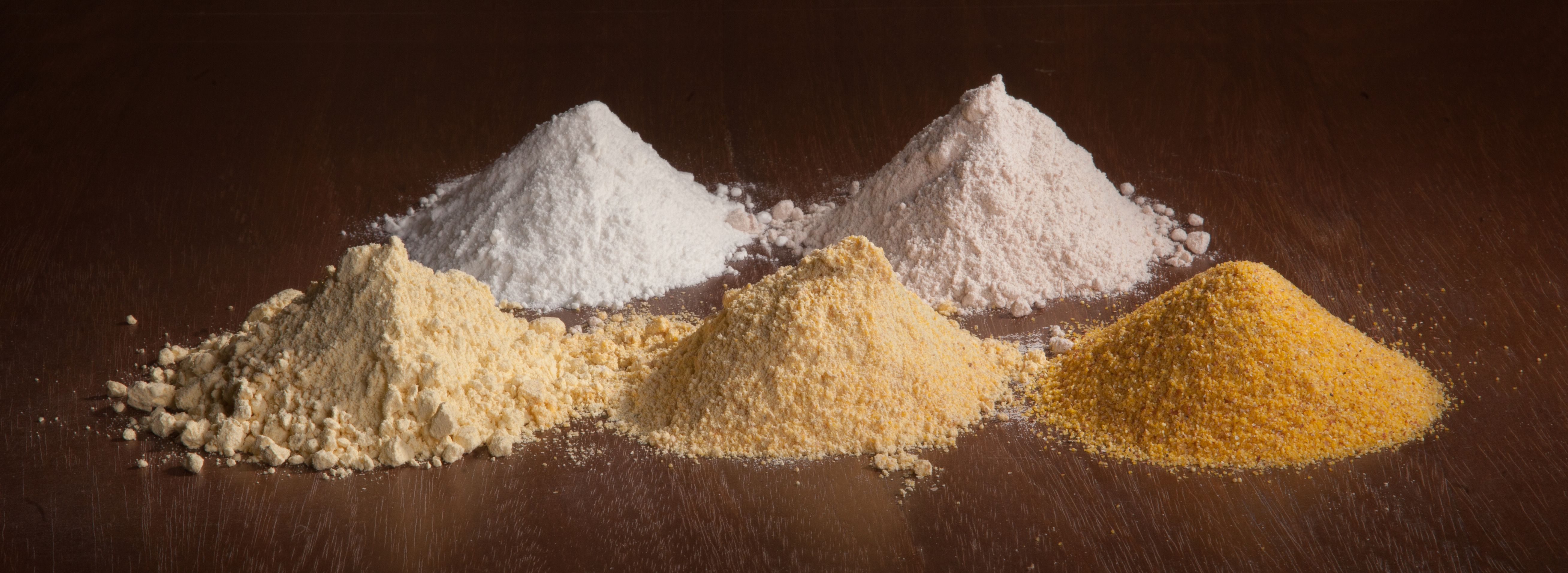 Le farine senza glutine macinate nel nostro mulino a pietra