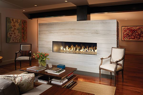 Linear Fireplace For Businesses Linear Fireplaces Create A Warm