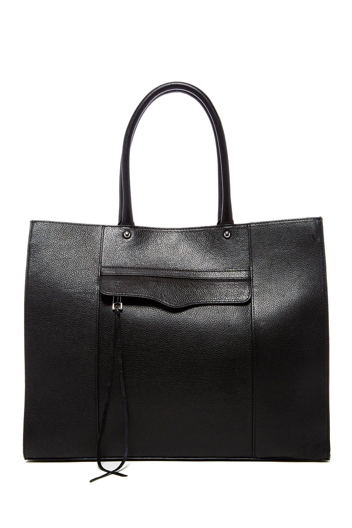 Rebecca Minkoff   Large Mab Oil Malaga Leather Tote   Leather totes ... fe60e40ac0