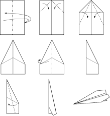 photo about Printable Paper Airplane Template known as printable paper aircraft options - Google Look Company