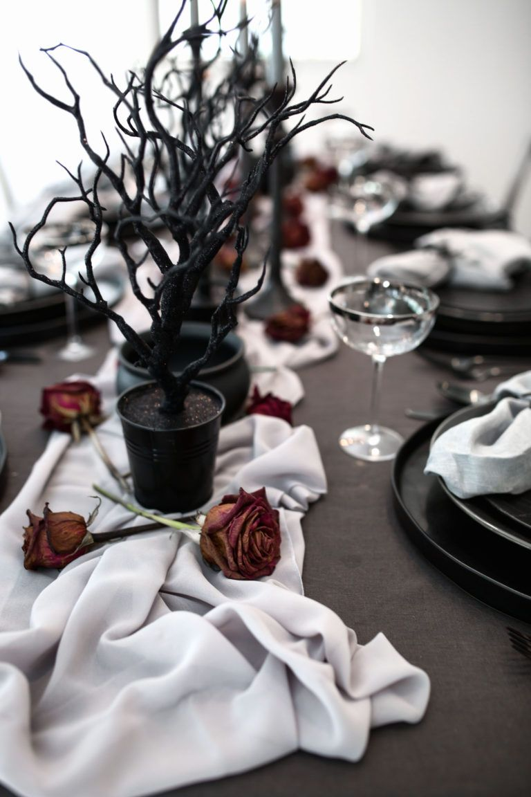 A Magical Mystical Halloween Table From The Graveyard To Have