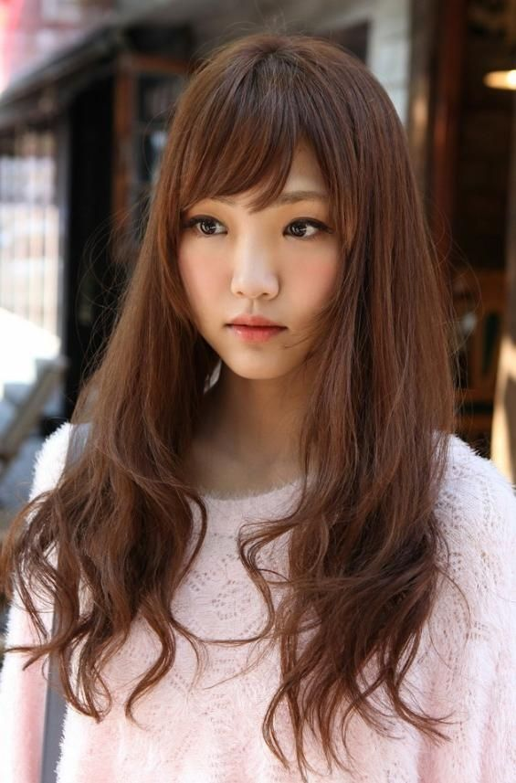 explore gallery of long hairstyles for korean women 12 of